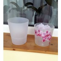 Горшки для орхидей б/у, 2шт