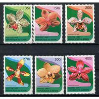 Бенин - 1997 - Цветы. Орхидеи - [Mi. 943-948] - полная серия - 6 марок. MNH.