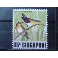 Сингапур 1978 Птицы** Михель-2,5 евро