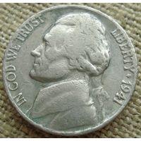 5 центов 1941 США