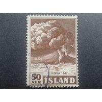 Исландия 1948 извержение вулкана Гекла