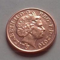 1 пенни, Великобритания 2010 г.