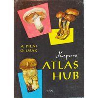 ATLAS HUB.  Карманный атлас  грибов на чешском языке.