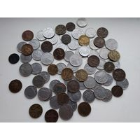Отличный лот монет старой Италии ,75 монет.старт с 1 р.
