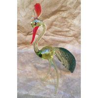 Статуэтка Феникс (Жар-птица, павлин), стекло