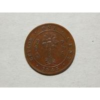 Цейлон 1 цент 1945г
