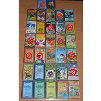 Детские сказки и песни на аудиокассетах