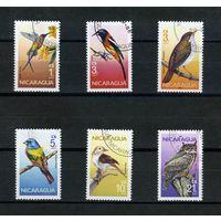 Никарагуа 1986г. птицы. 6м.