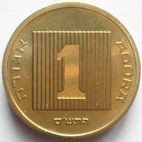 ИЗРАИЛЬ 1 АГОРА 1997 г. PIEFORT! ДВОЙНАЯ ТОЛЩИНА! UNC! ОЧЕНЬ ДЕШЕВО!!!