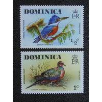 Доминика 1976 г. Птицы.