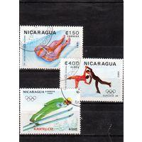 Никарагуа.Зимние Олимпийские игры .Сараево.1984.
