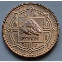 Непал 1 рупия 2009 г.