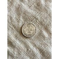 Канада 5 центов 1905 г.