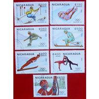 Никарагуа. Спорт. ( 7 марок ) 1983 года.