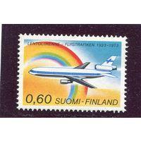 Финляндия. 50 лет регулярных авиалиний. Дуглас
