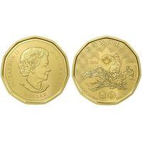 Канада 1 доллар 2016 г. Олимпиада в Рио де Жанейро UNC