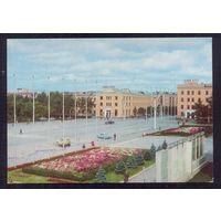 СССР ДМПК 1977 Южно-Сахалинск пл.им.Ленина авто