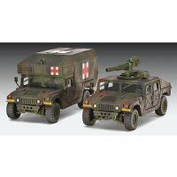 Revell Сборные модели двух военных автомобилей на базе HMMWV. HMMWV