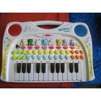 Детская музыкально-познавательная игрушка Animal Piano.
