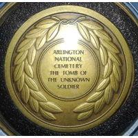 """США Вашингтон """"Могила неизвестного солдата""""  Арлингтонское национальное кладбище"""