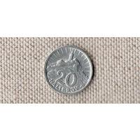 Словакия 20 геллеров 1943/(Oct)