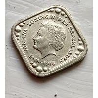 Нидерланды 5 центов, 1978 30 лет правления Королевы Юлианы 4-1-17
