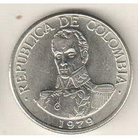 Колумбия 1 песо 1979