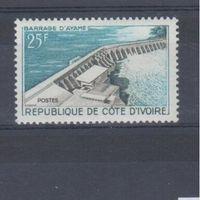 [347] Кот ди Вуар 1961. Плотины,дамбы.