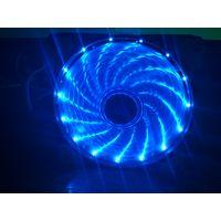 Вентилятор/Кулер/Fan корпусной Maitufeng Blue 15 LED Fan 120mm 12V 0.3A 15dBA