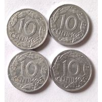 Испания, 10 сентимос 1959 г.