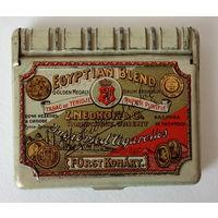 Z. NEDKOFF    EGYPTIAN BLEND  Jmported Cigarettes (металлическая упаковка сигарет Z. Nedkoff & Co. , начало 20 в.)
