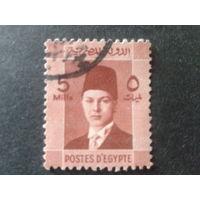 Египет 1937 король Фарук