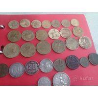 Сборный лот ранних советов и серебро с 5 рубля