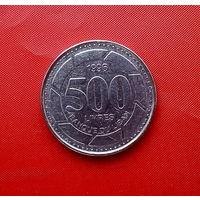 43-24 Ливан, 500 ливров 1996 г.