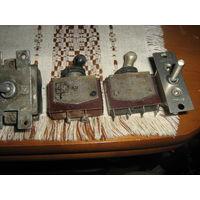 Тумблеры -2 шт.переключатель 3 ППН-45 , переключатель ППН-45