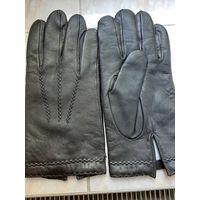 Перчатки мужские импортные  натуральная очень  мягкая кожа 19,5