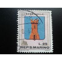 Сан-Марино 1968 герб города