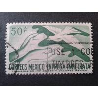 Мексика 1962 голубь мира, спец. доставка