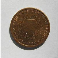 5 евроцентов, Нидерланды 2008г.
