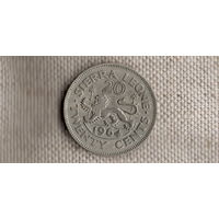 Сьерра-Леоне 20 центов 1964/(Qu)