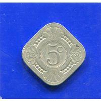 Нидерланды 5 центов 1929