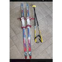 Skilom лыжи и палки.
