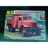 Продам Сборная модель Пожарный автомобиль ПМЗ-16 производитель AVD Models