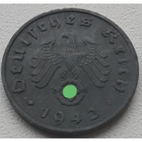 1 рейхспфенниг 1942 J