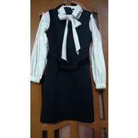 Одежда в школу.Сарафан и блузка Wojcik 128-134