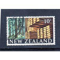 Новая Зеландия. Ми-480. Сосна. Лес.Деревообработка. 1968.