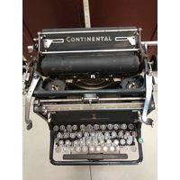 Печатная машинка Continental.