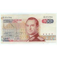 Люксембург, 100 франков 1980 год