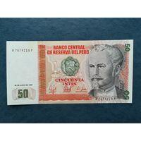 ПЕРУ 50  1987   UNC