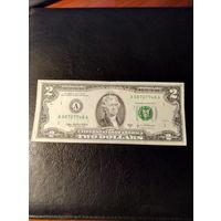 2 доллара США 2003 года A 0 87 0 77 48A